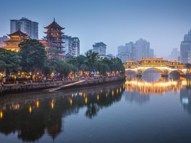 Chengdu river