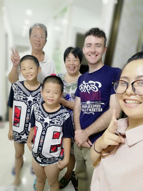 Immersion Training - Student Chris in Beihai