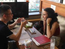 Learning Chinese in Chengdu with LTL