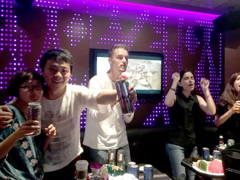 KTV Time - Life in Chengdu