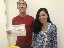 Graduating from LTL Mandarin School