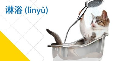 Take a Shower in Chinese: Vocabulary, Phrases, and Practice